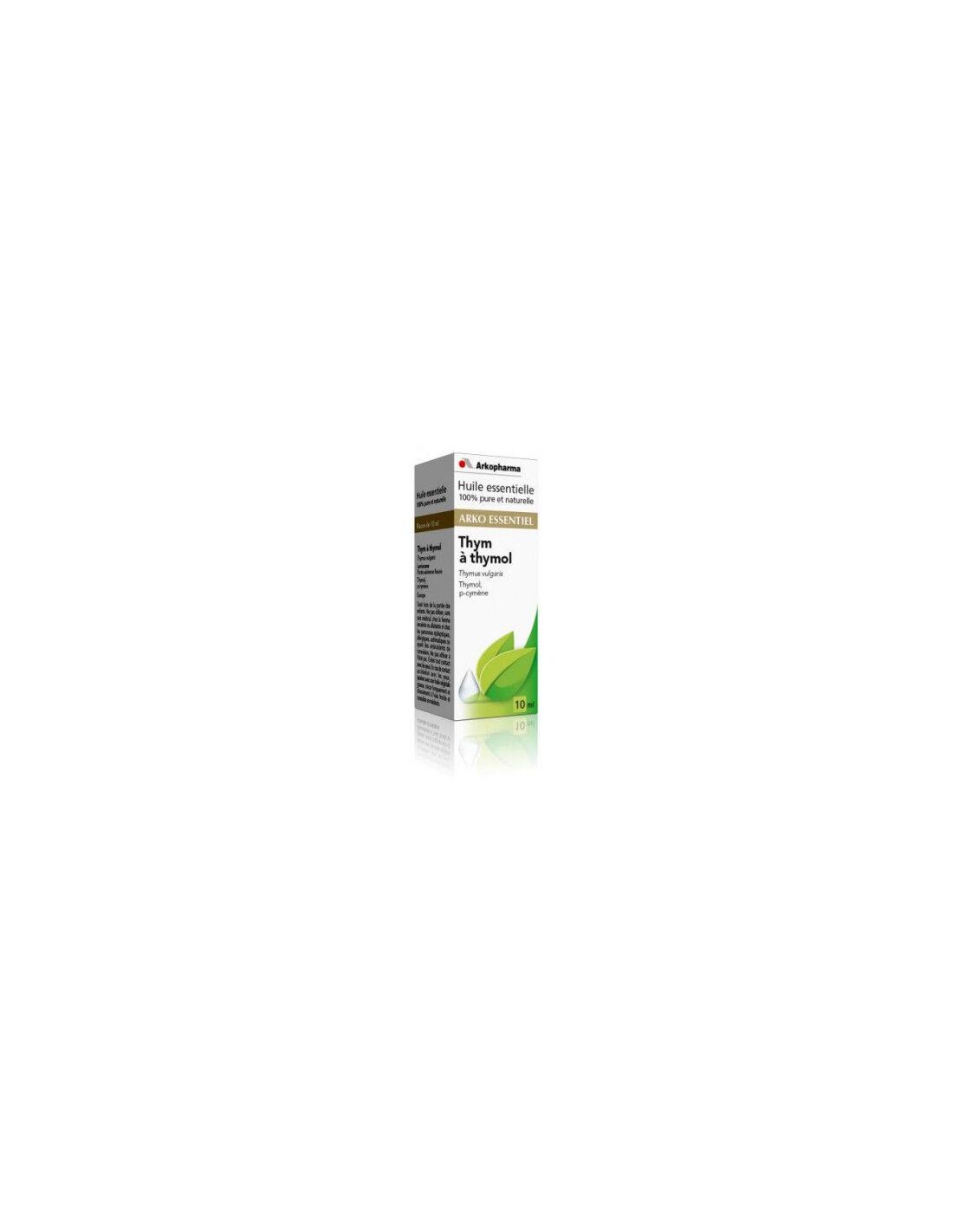 Arkopharma Arko Essentiel huile essentielle de thym à thymol 10 ml