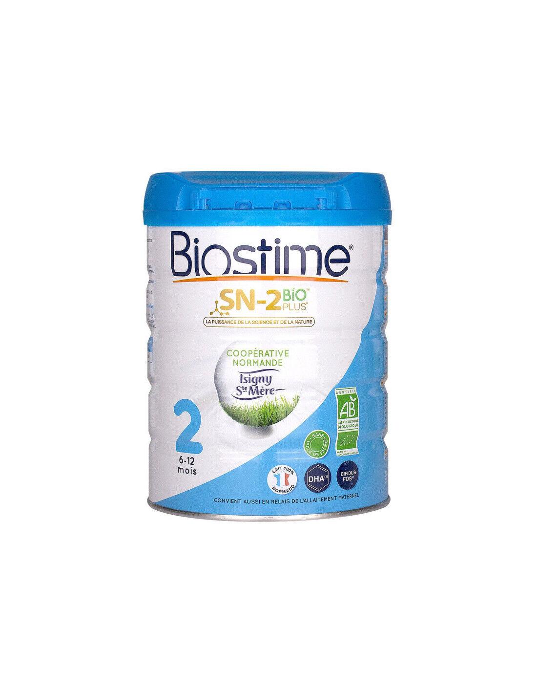 BIOSTIME BIO DEUXIEME Age 6-12 mois SN-2 800g