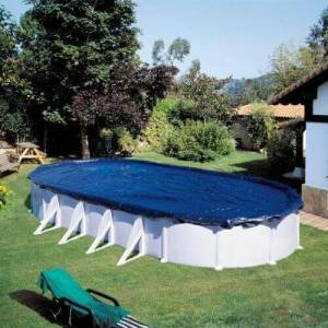 GRE Bâche d'hivernage piscine Gré 1020 x 575 cm ovale - Publicité