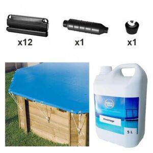 Ubbink Kit hivernage piscine Ubbink Azura 250 x 450 cm - Publicité