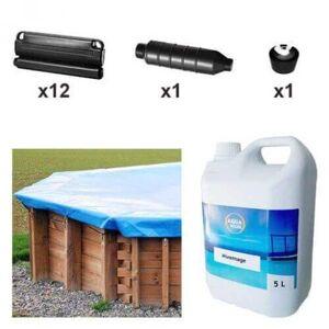 Mypiscine Kit d'hivernage piscine Sunbay Cannelle 551 x 351 cm - Publicité