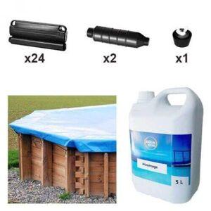 Mypiscine Kit d'hivernage piscine Sunbay Cardamon 1218 x 427 cm - Publicité