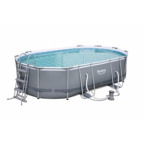 Bestway Piscine tubulaire 488 x 305 x H107 cm - Power Steel