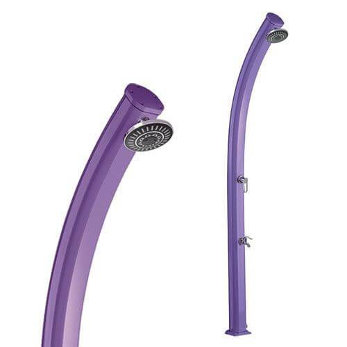 Formidra Douche Solaire JOLLY 25L Violet en Aluminium