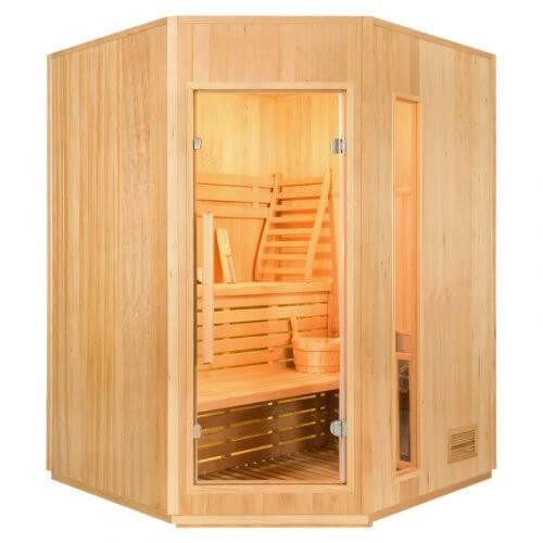 France Sauna Sauna ZEN Angulaire 3 à 4 Places