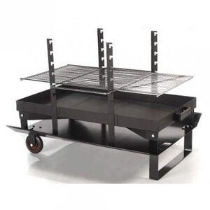 Le Feu Roulant Barbecue multi-fonction CLASSIC Géant - Publicité