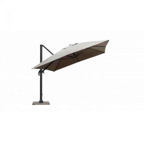 Delorm Design Parasol déporté Taupe 3 x 4 m