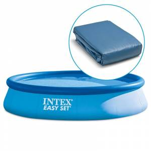 Intex Liner pour piscine Intex Easy Set autoportante ronde Dimension - 3,66 x h0,76m - Publicité