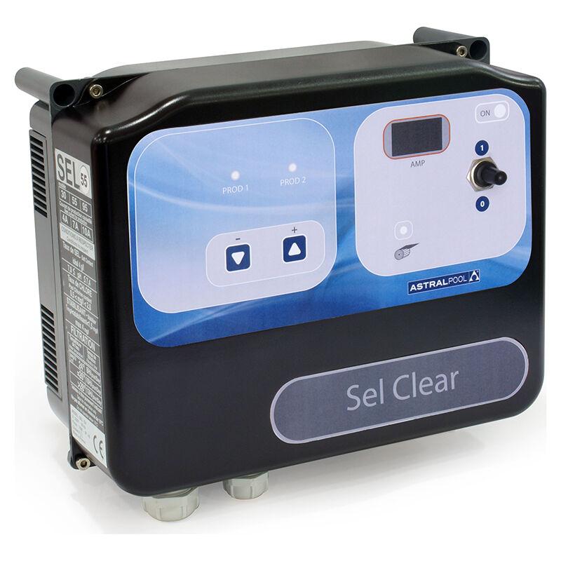 Astralpool Electrolyseur Astral Sel Clear Volume - Jusqu'à 55 m3