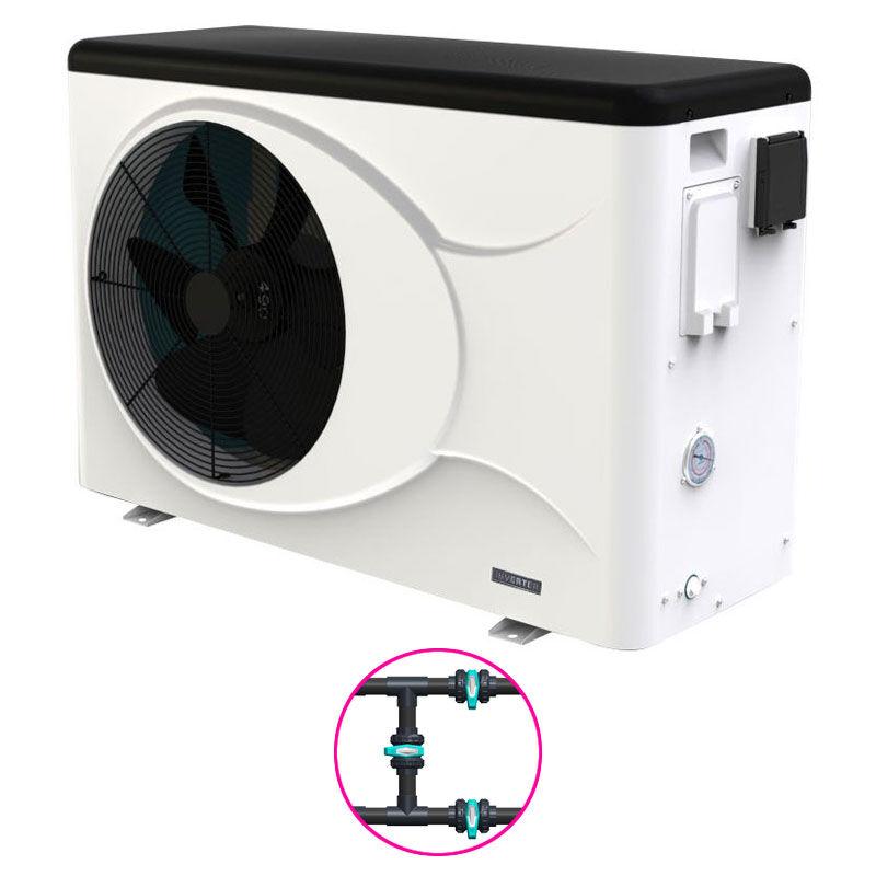 Astralpool Pompe à chaleur Astral Evo Top Inverter Modèle - I8 - 8kW - jusqu'à 35 m3