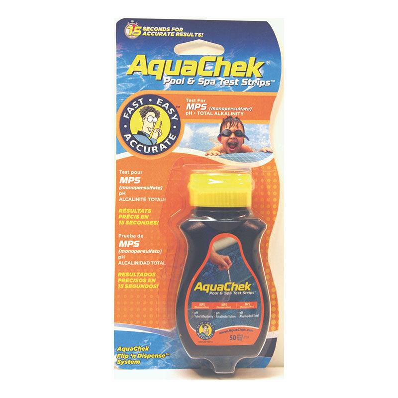 Aquachek orange (oxygène actif)