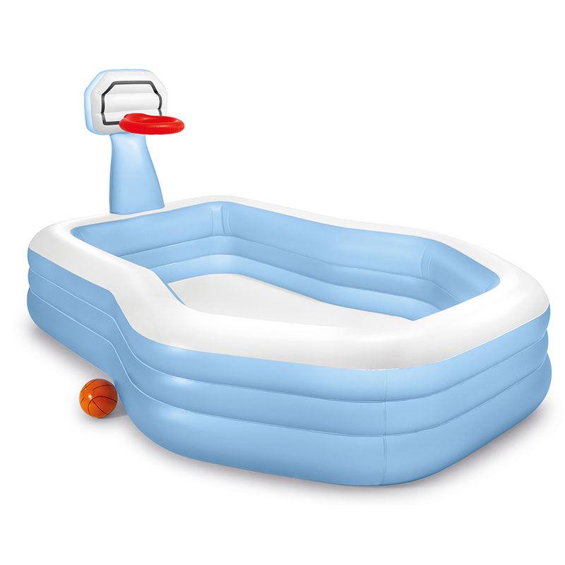 Intex Aire de jeux piscine avec panier de basket