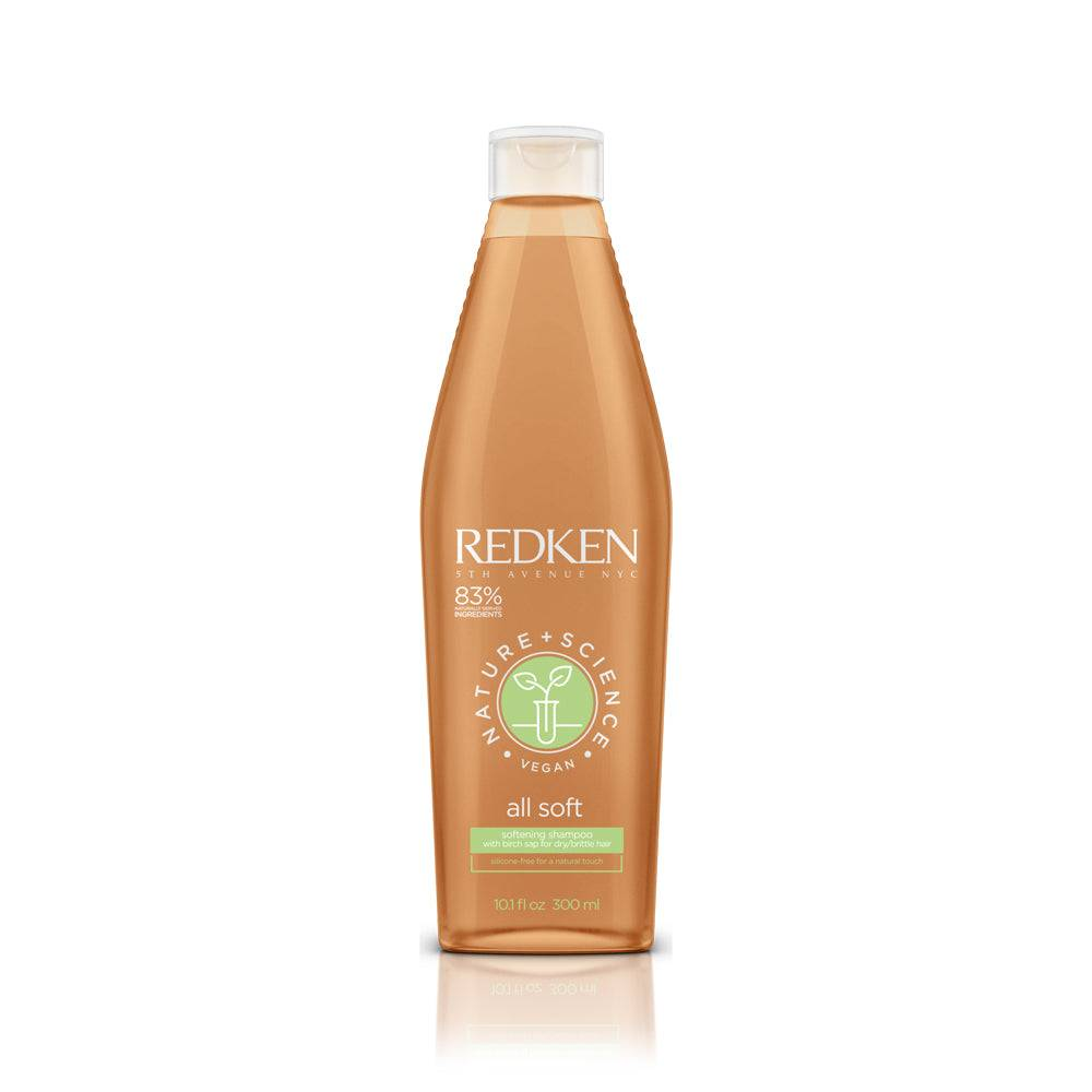 REDKEN Shampoing All Soft Redken Nature + Science 300 ml
