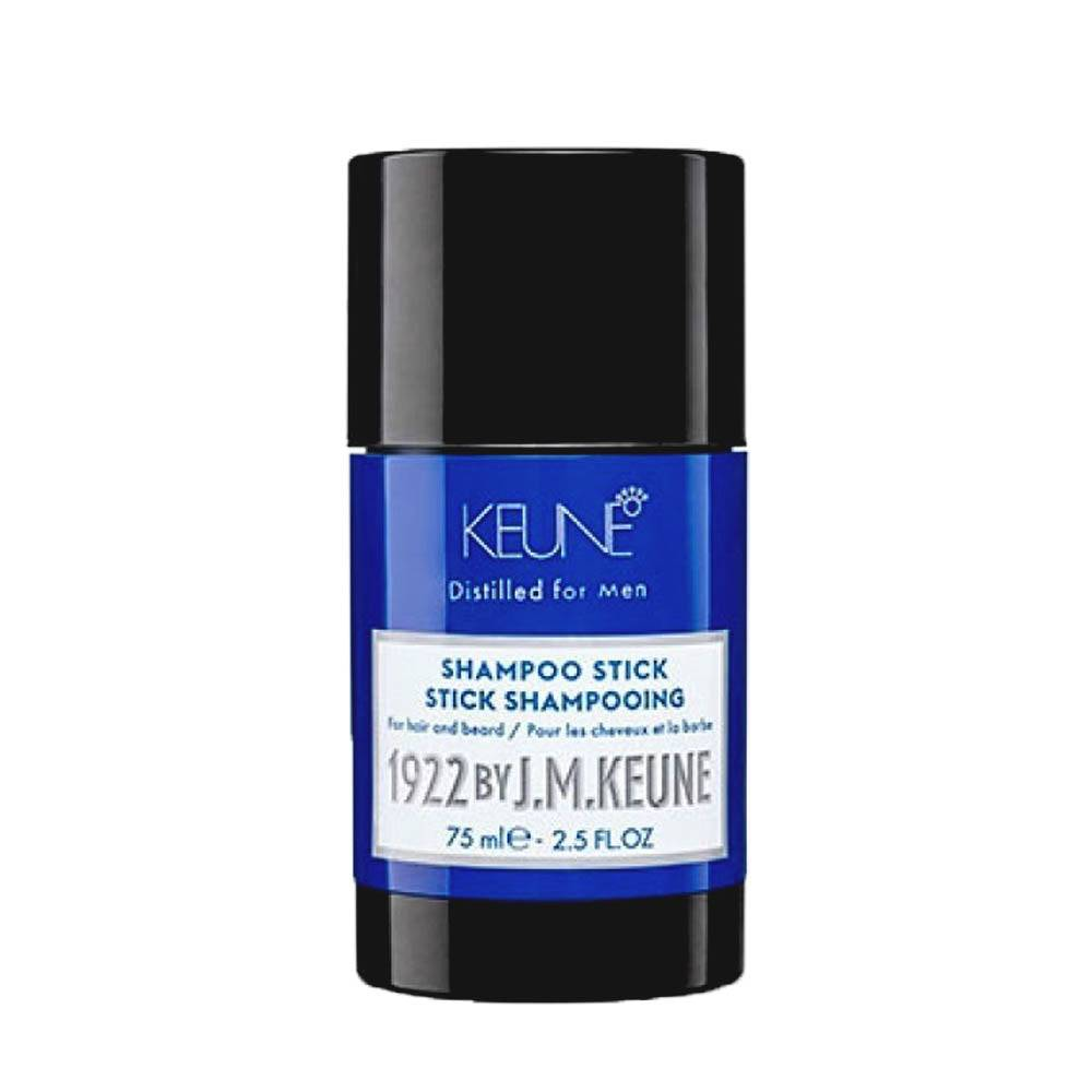 KEUNE Stick Shampoing cheveux et barbe 1922 By J.M. Keune 75 ml