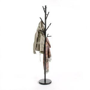 IDIMEX Porte-manteaux ZENO, en métal laqué noir - Publicité