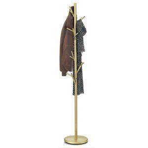 IDIMEX Porte-manteaux ZENO, en métal laqué doré - Publicité