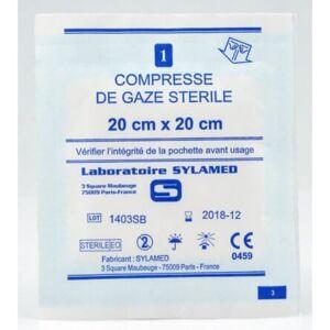 Sylasoft Compresse de gaze stérile 5 x 5 cm BLANC 0.000000