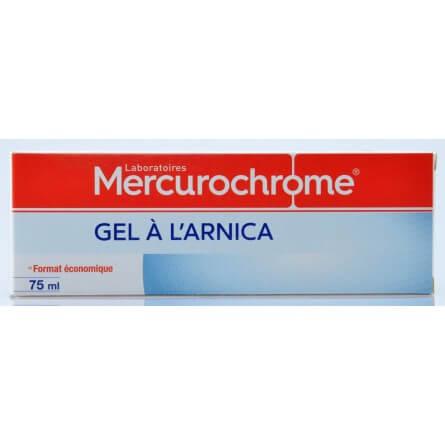 Mercurochrome Gel à l'arnica 75 ml Mercurochrome