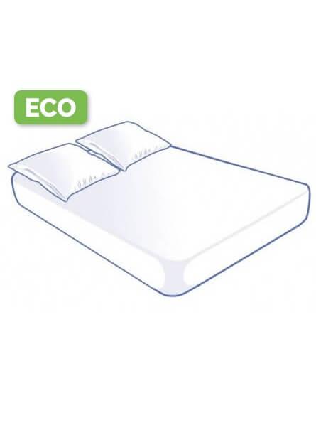 Prorisk Kit literie jetable housse pour lit 2 places 160x200x15cm Eco
