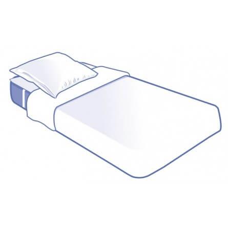 Prorisk Kit literie jetable complet plateau pour lit 1 place 90x190cm