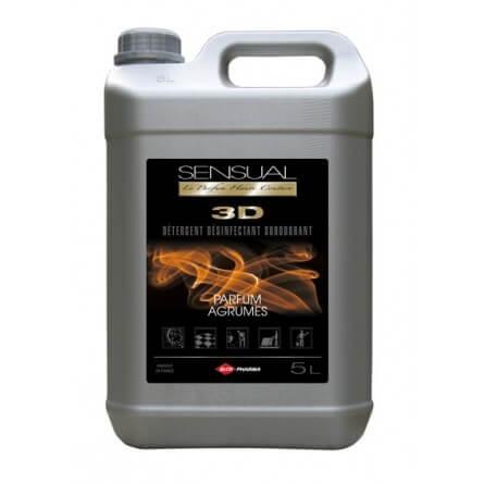 Prorisk Détergent désinfectant surodorant sensual 3d agrumes bidon 5l INCOLORE 285.000000