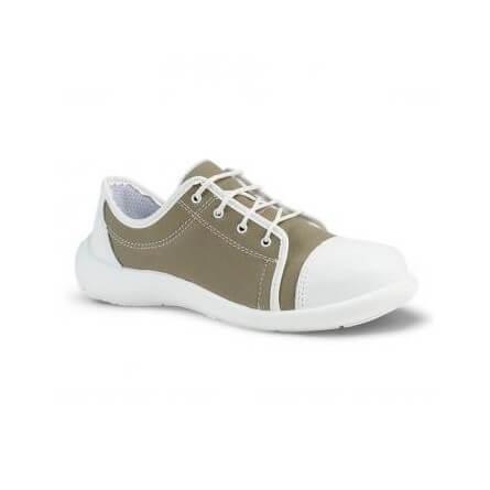 S24 Chaussures de sécurité khaki basses femme LOANE S1P