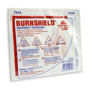 GM Equipement Compresse pour brûlure Burnshield 20x20cm - Publicité
