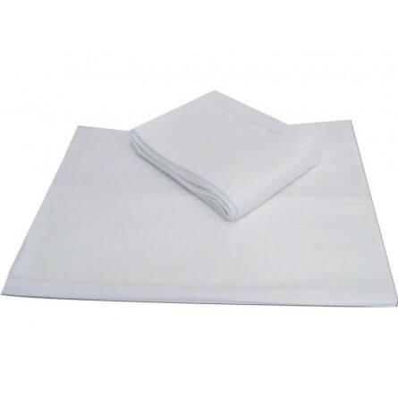 Prorisk Serviette de toilette jetable 67x45cm Blanc 0.000000
