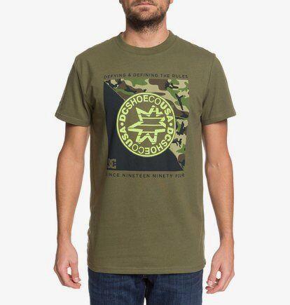 DC Shoes Rules Definition Ss - T-shirt pour Homme - Marron - DC Shoes