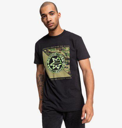 DC Shoes Rules Definition Ss - T-shirt pour Homme - Noir - DC Shoes
