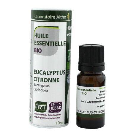 Altho Huile essentielle Eucalyptus Citronne Bio