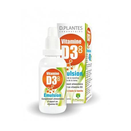 Labo Des Plantes Vitamine D Emulsion
