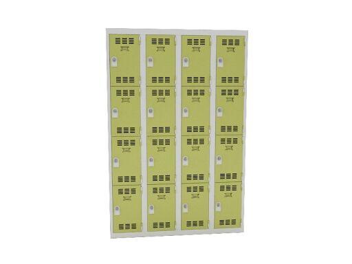 FactoDesk Vestiaire 4 colonnes de 4 cases pas cher