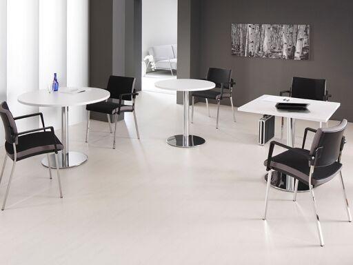 Office Squad Table de réunion ronde pas cher