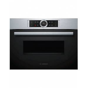 BOSCH Four intégrable compact avec fonction micro-ondes BOSCH CMG633BS1