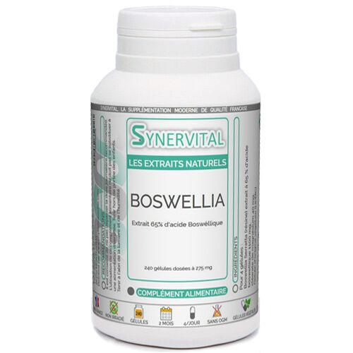 PHYTAFLOR Boswellia Serrata Extrait à 65 % Phytaflor. - . : 1000 gélules