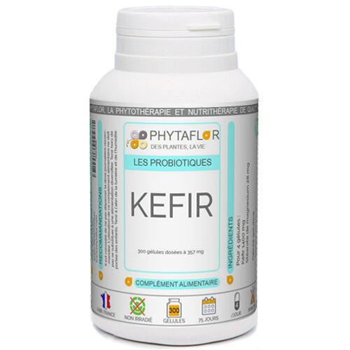 PHYTAFLOR KEFIR Phytaflor 357 mg. - contenance : 300 gélules