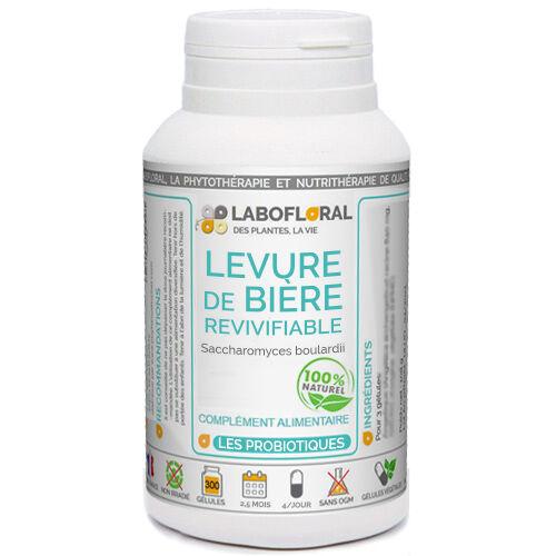 PHYTAFLOR Levure de Bière revivifiable Phytaflor - . : 300 gélules vivantes