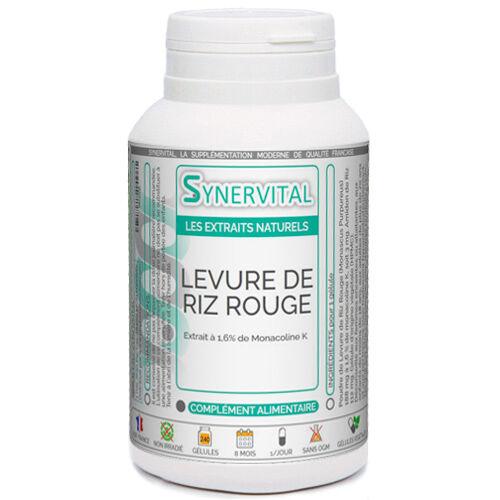 PHYTAFLOR Levure de Riz Rouge Phytaflor - . : 50 gélules