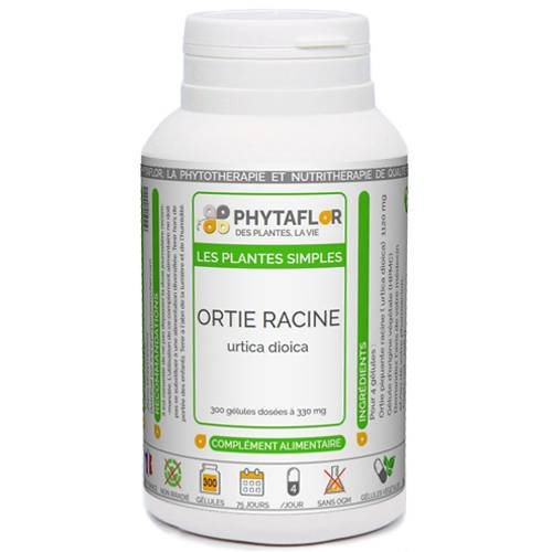 PHYTAFLOR Ortie racine Phytaflor - . : 150 gélules