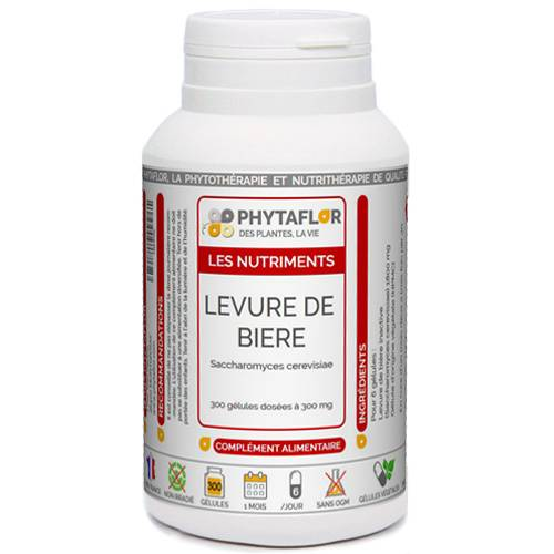 PHYTAFLOR Levure de Bière inactive Phytaflor - . : 300 gélules