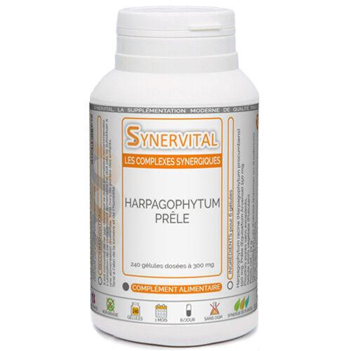 PHYTAFLOR Harpagophytum - Prêle Phytaflor - boîte : 300 gélules