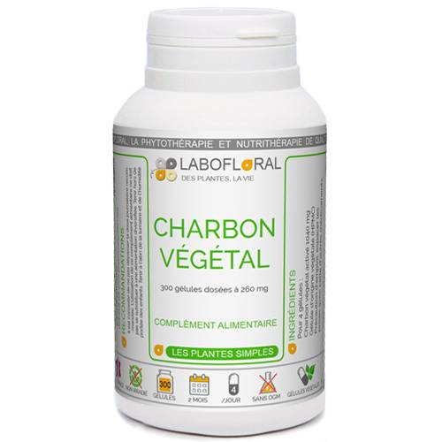 PHYTAFLOR Charbon végétal activé Phytaflor - . : 50 gélules