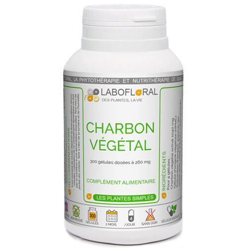 PHYTAFLOR Charbon végétal activé Phytaflor - . : 300 gélules