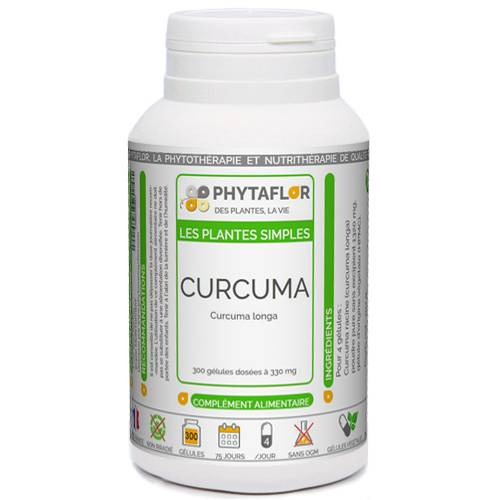 PHYTAFLOR Curcuma racine Phytaflor. - . : 50 gélules