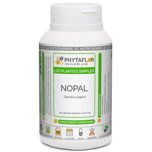 PHYTAFLOR Nopal Phytaflor - . : 300 gélules