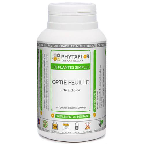 PHYTAFLOR Ortie feuille Phytaflor - . : 150 gélules