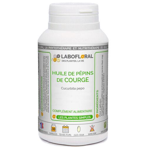 PHYTAFLOR Huile de Pépins de Courge Phytaflor - . : 50 Capsules