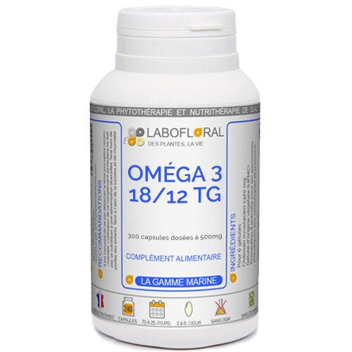 PHYTAFLOR Oméga 3 18/12 TG Phytaflor - . : 300 Capsules