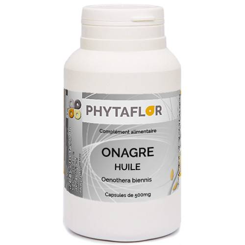 PHYTAFLOR Huile d'Onagre + Vitamine E Phytaflor - . : 300 Capsules